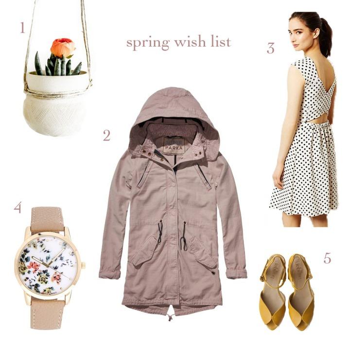Spring wish list 2014